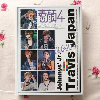 ジャニーズジュニア(ジャニーズJr.)の美品 素顔4 Travis Japan盤 DVD ジャニーズJr. トラジャ(アイドル)