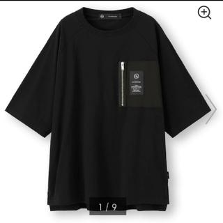 GU - GU×UNDERCOVERスーパービッグジップポケットTシャツ