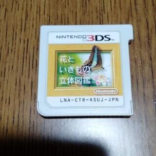ニンテンドー3DS - 花といきもの立体図鑑 3DS
