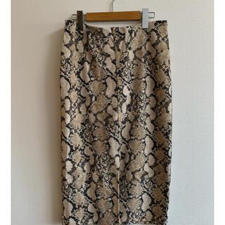 H&M - H&Mレオパートタイトスカート