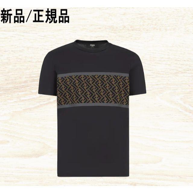 FENDI(フェンディ)の◆新品/正規品◆ FENDI  FFテックメッシュアップリケ メンズのトップス(Tシャツ/カットソー(半袖/袖なし))の商品写真