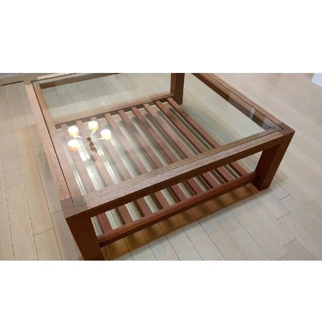 【希少価値】ローテーブル yamagiwa 家具 インテリア/住まい/日用品の机/テーブル(ローテーブル)の商品写真