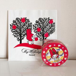 マイメロディ - マイメロディ✖️ゴンチャロフ チョコレート入りマグネット缶