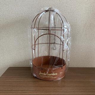 人気商品❗鳥かご プランター 吊り下げ可能(プランター)