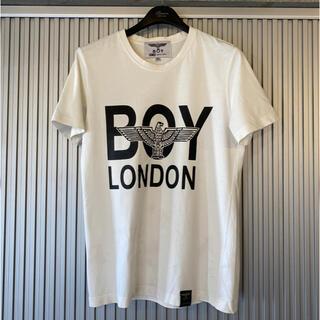 ボーイロンドン(Boy London)のBOY LONDON(ボーイロンドン)ロゴT 白 半袖(Tシャツ/カットソー(半袖/袖なし))