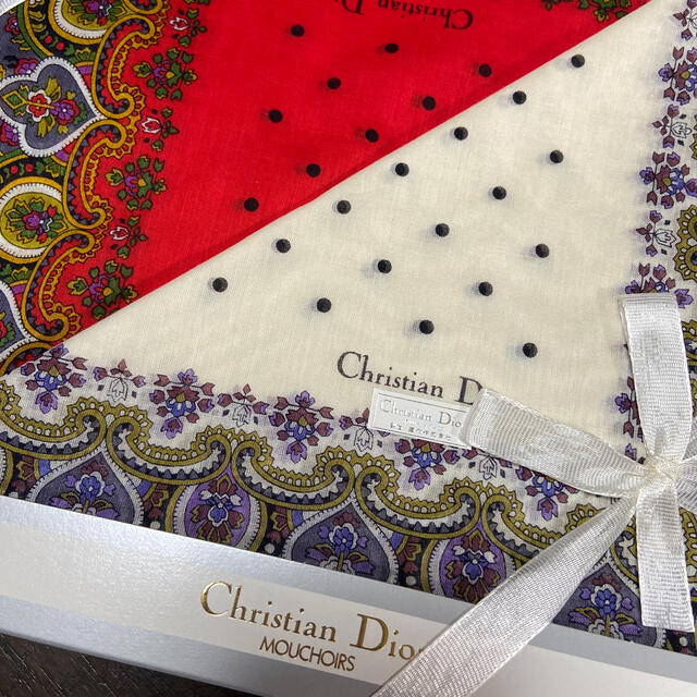 Christian Dior(クリスチャンディオール)のDior ハンカチ レディースのファッション小物(ハンカチ)の商品写真