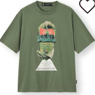 UNDERCOVER - GU undercover  ビッググラフィック  Tシャツ M      新品