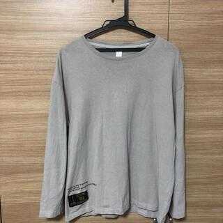 シンプルプリント長袖Tシャツ(Tシャツ(長袖/七分))