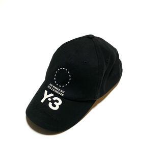 Y-3 - y-3 ワイスリー ヨウジヤマモト キャップ 帽子 ブラック フリーサイズ