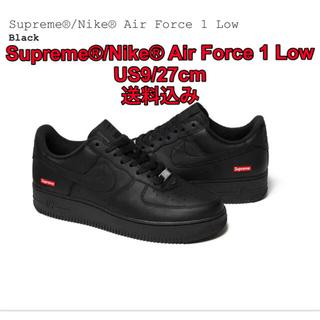 シュプリーム(Supreme)のSupreme®/Nike® Air Force 1 Low Black27cm(スニーカー)