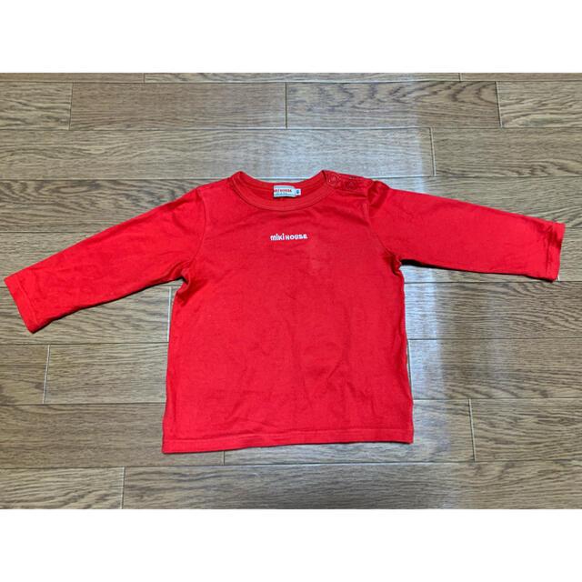 mikihouse(ミキハウス)のミキハウス ロンT 90 キッズ/ベビー/マタニティのキッズ服女の子用(90cm~)(Tシャツ/カットソー)の商品写真