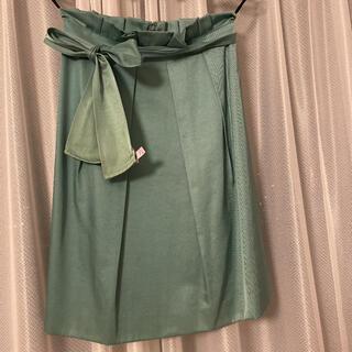 ANAYI - ♥︎美品♥︎アナイ スカート エメラルドグリーン 36S7号
