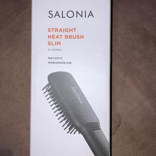 SALON - 【大幅値下げ】SALONIA ストレートヒートブラシ スリム