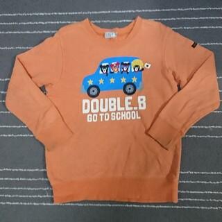 DOUBLE.B - 【120cm】ダブルビー トレーナー