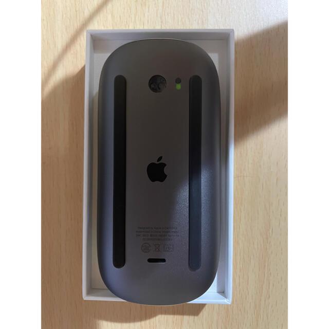 Mac (Apple)(マック)のApple Magic Mouse 2 Space Grey スペースグレー スマホ/家電/カメラのPC/タブレット(PC周辺機器)の商品写真