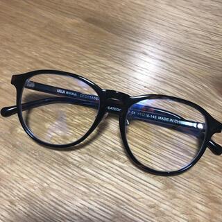 MUJI (無印良品) - 無印良品 ブルーライトカット メガネ