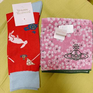 Vivienne Westwood - 新品!Vivienne Westwood ハンカチ・靴下セット