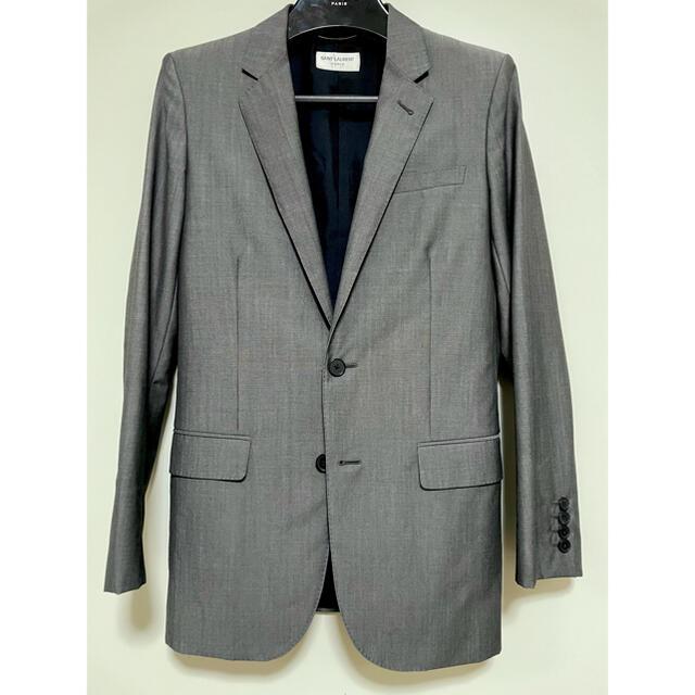 Saint Laurent(サンローラン)の13SS サンローランパリ セットアップ スーツ 44 ジャケット スラックス メンズのスーツ(セットアップ)の商品写真