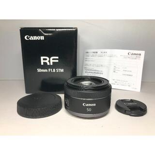 Canon - メーカ保証残アリ キヤノン RF 50mm F1.8 STM