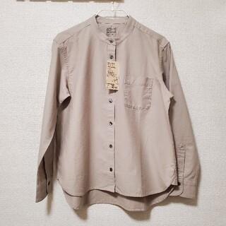 MUJI (無印良品) - タグ付き 無印良品 洗いざらしオックススタンドカラーシャツ Sサイズ