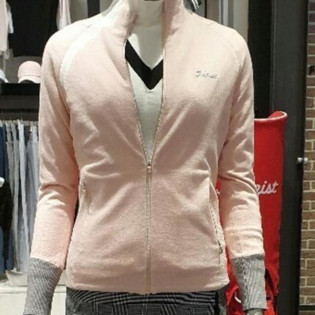 Titleist(タイトリスト)の韓国限定★ピンク色のニートです。(ピンク) スポーツ/アウトドアのゴルフ(ウエア)の商品写真