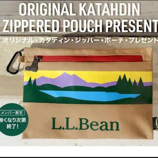 エルエルビーン(L.L.Bean)のLLBean エルエルビーン カタディン・ジッパー・ポーチ 新品未開封(ノベルティグッズ)