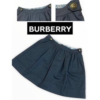 BURBERRY - バーバリー Burberry スカート ノバチェック  美品 38サイズ