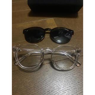 ジンズ(JINS)のjins switch クリアフレーム◇◇zoff  金子眼鏡(サングラス/メガネ)