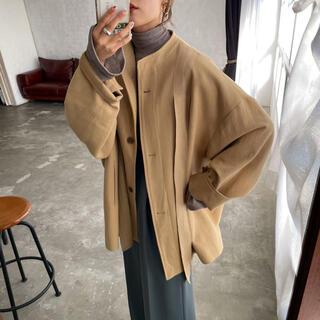 TODAYFUL - Link original ルーズアンニュイtapeジャケット/ beige