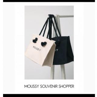 moussy - MOUSSY SOUVENIRショッパートート*ロゴトートバッグ