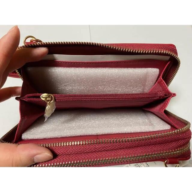 Maison de FLEUR(メゾンドフルール)のタイムセール‼️ショルダーバッグ Maison de FLEUR  赤 レディースのバッグ(ショルダーバッグ)の商品写真