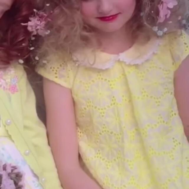 mezzo piano(メゾピアノ)の【お取置き中】メゾピアノ 新品ワンピース 120 キッズ/ベビー/マタニティのキッズ服女の子用(90cm~)(ワンピース)の商品写真