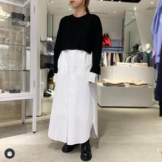 ENFOLD - enfold nagonstans シャツレイヤード ドレス 38