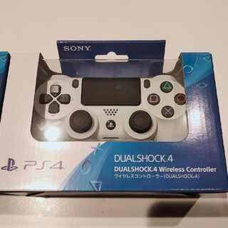 PlayStation4 - PS4 純正 デュアルショック4 DUALSHOCK4 新品グレイシャーホワイト