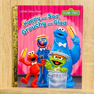 セサミストリート(SESAME STREET)の英語絵本 セサミストリート Happy & Sad,Grouchy & Glad(絵本/児童書)