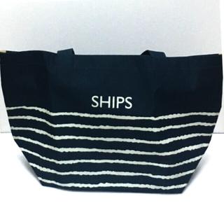 SHIPS - 雑誌付録 SHIPS(シップス)A4が入る ボーダートートバッグ