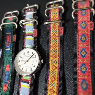 タイメックス(TIMEX)のタイメックス TIMEX ウィークエンダー チャムスバンド4本付(腕時計(アナログ))