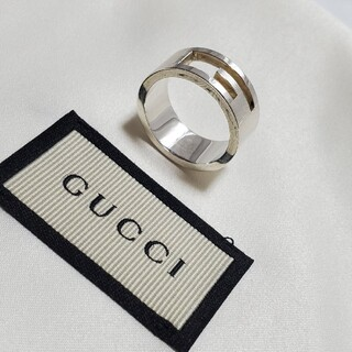 Gucci - 【美品】GUCCI Gリング 箱セット
