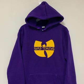 wu-tang clan スウェット パーカー 紫 wu tang