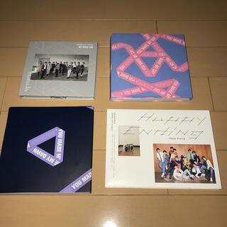 セブンティーン(SEVENTEEN)のSEVENTEEN CD4種セット(K-POP/アジア)