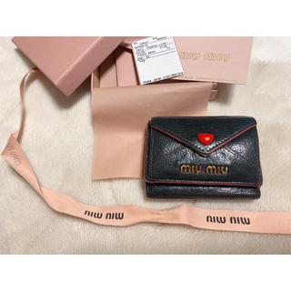 miumiu - MIUMIU  マドラスレザー 財布