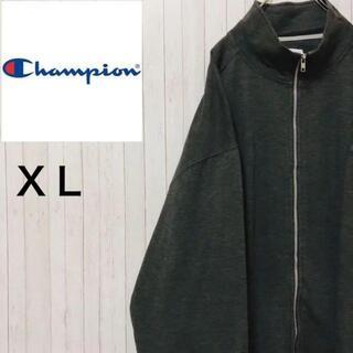 Champion - チャンピオン スウェット トレーナー フルジップ グレー ビッグサイズ XL