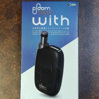 プルームテック(PloomTECH)の新品 プルームテック プラス ウィズ黒(タバコグッズ)