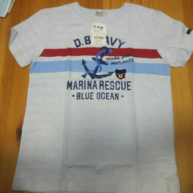 mikihouse(ミキハウス)のダブルB 半袖Tシャツ キッズ/ベビー/マタニティのキッズ服男の子用(90cm~)(Tシャツ/カットソー)の商品写真