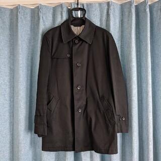 メンズメルローズ(MEN'S MELROSE)のM'S MELROSE コート トレンチ ブラック ポールスミス(トレンチコート)