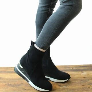 フィン(Fin)の*Fin ストレッチスニーカーブーツ【軽量】*(ブーツ)
