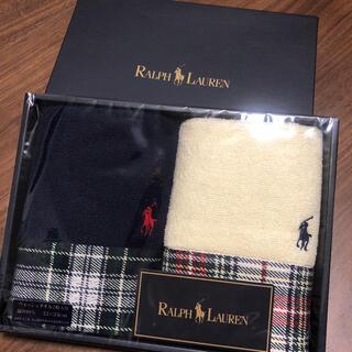 Ralph Lauren - ラルフローレン ウォッシュタオル2枚セット