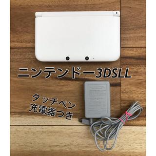 ニンテンドー3DS - ⦅美品です☻⦆ニンテンドー3DS LL ホワイト