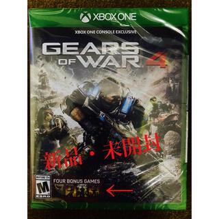 エックスボックス(Xbox)の(新品)XBOX ONE / Gears of war 4(家庭用ゲームソフト)