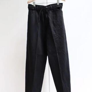 COMOLI - コモリ ベルデッドデニム ブラック size3